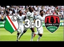 Legia Warszawa 3:0 Cork City
