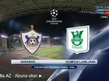 Qarabag Agdam 0:0 Olimpia Ljubljana