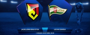 Jagiellonia Białystok 1:0 Lechia Gdańsk