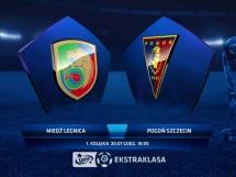 Miedź Legnica 1:0 Pogoń Szczecin