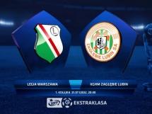 Legia Warszawa 1:3 Zagłębie Lubin