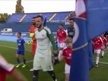 Dinamo Zagrzeb 5:0 Hapoel Be'er Szewa