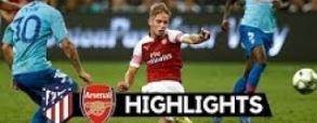 Atletico Madryt 1:1 Arsenal Londyn