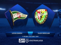 Lechia Gdańsk 1:1 Śląsk Wrocław