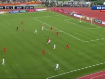 Jenisej 0:2 Zenit St. Petersburg