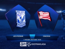 Lech Poznań 2:0 Cracovia Kraków
