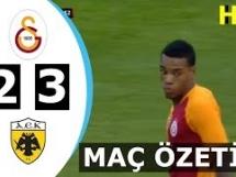 AEK Ateny 2:3 Galatasaray SK