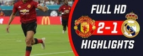 Manchester United 2:1 Real Madryt