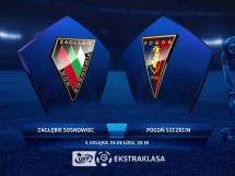 Zagłębie Sosnowiec 3:0 Pogoń Szczecin