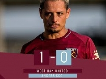 West Ham United 1:0 Angers