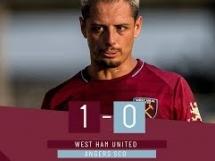 West Ham United 1:0 Angers