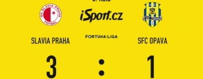 Slavia Praga 3:1 Opawa