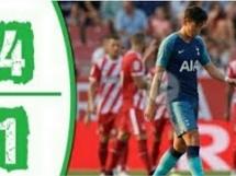 Girona FC 4:1 Tottenham Hotspur