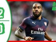 Arsenal Londyn 2:0 Lazio Rzym