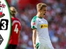 Southampton 0:3 Borussia Monchengladbach