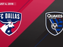 FC Dallas 1:3 San Jose Earthquakes