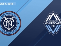 New York City FC 2:2 Vancouver Whitecaps