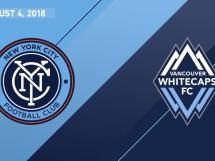 New York City FC 2:2 Vancouver Whitecaps
