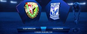 Śląsk Wrocław 0:1 Lech Poznań