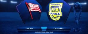Cracovia Kraków 0:0 Arka Gdynia