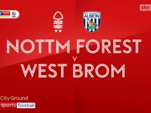 Nottingham Forest FC 1:1 West Bromwich Albion