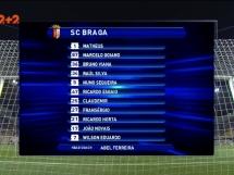 Zoria Ługańsk 1:1 Sporting Braga