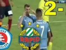 Slovan Bratysława 2:1 Rapid Wiedeń