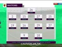 Watford 2:0 Brighton & Hove Albion