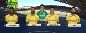 Nantes 1:3 AS Monaco