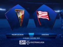 Pogoń Szczecin 1:1 Cracovia Kraków