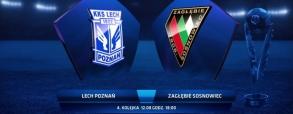 Lech Poznań 4:0 Zagłębie Sosnowiec