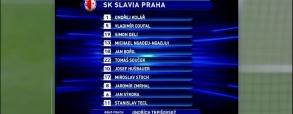 Dynamo Kijów 2:0 Slavia Praga