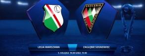 Legia Warszawa 2:1 Zagłębie Sosnowiec