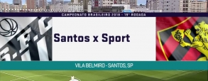 Santos 3:0 Sport Recife