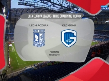 Lech Poznań 1:2 Genk