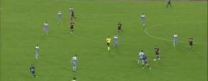 Milik strzela przeciwko Lazio!