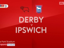 Derby County 2:0 Ipswich Town
