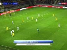BATE Borysów 2:3 PSV Eindhoven