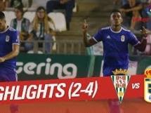 Cordoba 2:4 Real Oviedo