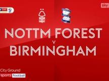 Nottingham Forest FC 2:2 Birmingham