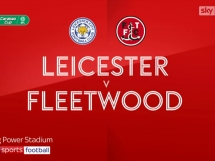 Leicester City 4:0 Fleetwood Town