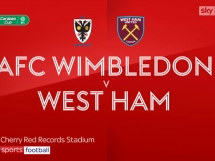 Wimbledon 1:3 West Ham United