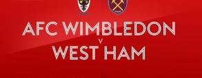 Wimbledon - West Ham United