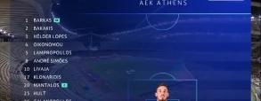 AEK Ateny - MOL Vidi