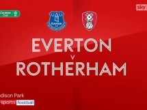 Everton 3:1 Rotherham United