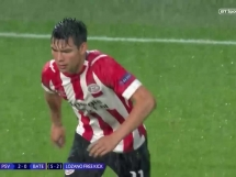 PSV Eindhoven 3:0 BATE Borysów