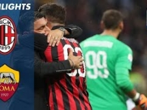 AC Milan 2:1 AS Roma