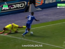 Błąd Alissona.. Leicester 1-2 Liverpool