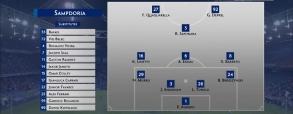 Sampdoria 3:0 Napoli