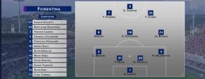 Fiorentina 1:0 Udinese Calcio